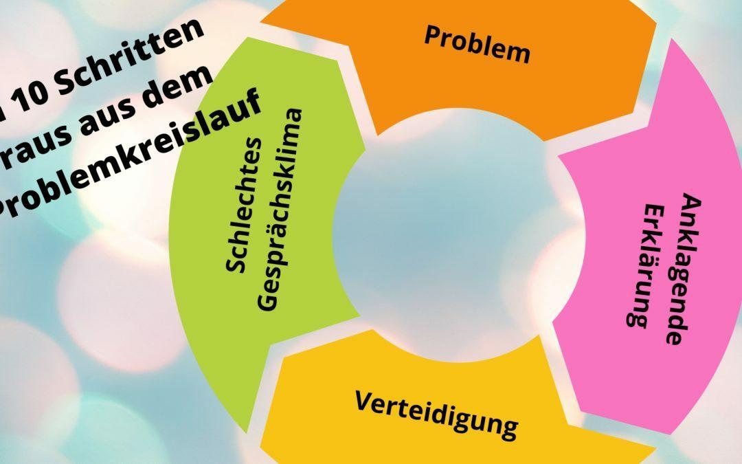 Lösungsorientiert: In 10 Schritten raus aus dem Problemkreislauf